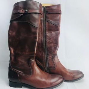 Frye  brown leather women's size 9b boot